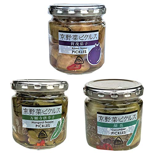 京野菜ピクルス 夏野菜3種×2セット 賀茂茄子 万願寺唐辛子 きゅうり 京都ハバネロの里