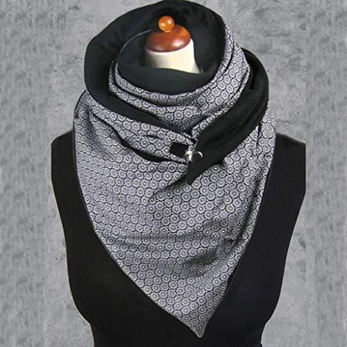 YUNYUN Bufandas para Mujer Abrigos cálidos de Invierno Moda para Mujer Bufanda...