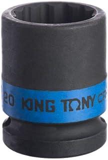 Soquete de Impacto Estriado 1/2-20Mm, Kingtony Br, 453020M, 20Mm
