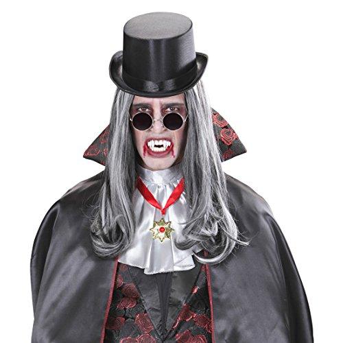 Amakando Dents de Vampire dentier Compte Dracula diablesse Dentition Zombie Effrayant Monstre soirée à thème Halloween Accessoire