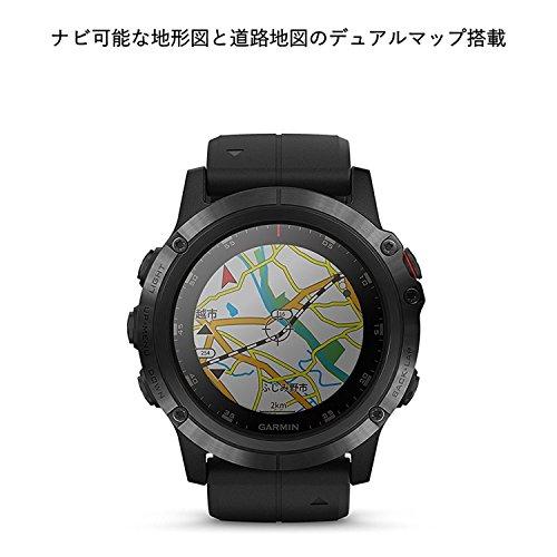 GARMIN(ガーミン)fenix5XPlusSapphireBlack音楽再生機能マルチスポーツ型GPSウォッチ最大18日間稼働【日本正規品】