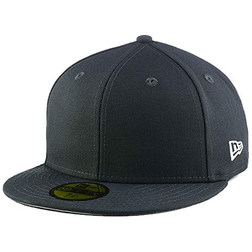 New Era Blank Custom 59FIFTY Fitted Cap Graphite