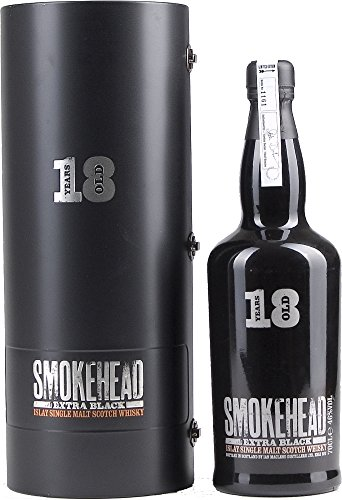 Photo of SMOKEHEAD EXTRA BLACK 18 Years Old Whisky with Gift Bag (70 cl)