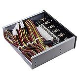 Cablecc 6 - Sistema de control de disco duro inteligente para disco duro SSD con bahía de 5,25 CD-ROM