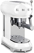 SMEG ECF01WHEU   Koffiezetapparaat Jaren '50   Kleur : wit