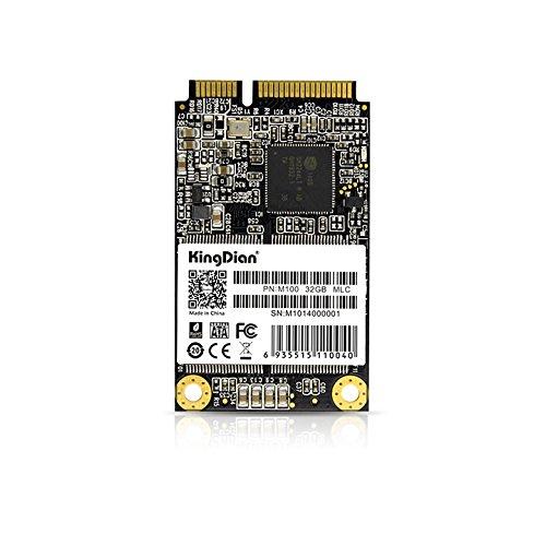 KingDian mSATA Mini PCIe 8GB 16GB 32GB M1Series SSD Solid State Drive (30 * 50 mm) (M100 32GB)