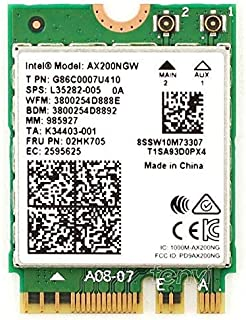 periPLUS AX200 Wi-Fi6(2,400Mbps) Bluetooth5 (intel AX200NGW採用) (内部接続ケーブル15cm・ブラケット付属, ケーブルのみ)