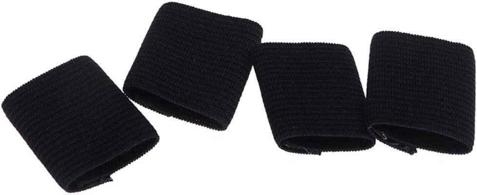 ZYR 10 pi/èces de Basket-Ball en Plein air Volleyball Protection des Doigts Sports Finger Sleeve Arthritis Finger Guard Blanc