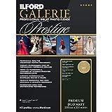 Ilford Galerie Premium Duo - Papel Doble Cara a4 (50 Hojas) Color Negro