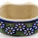 Polish Pottery - Flat Napkin Ring - BK1 - The Polish Pottery Outlet