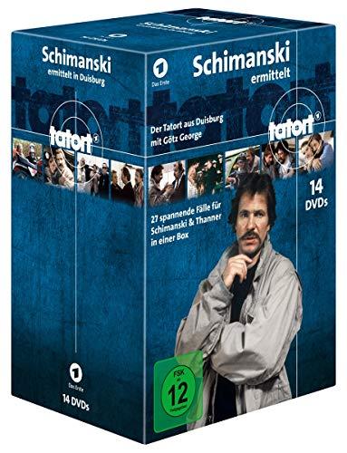 Tatort - Kommissar Schimanski ermittelt [14 DVDs]