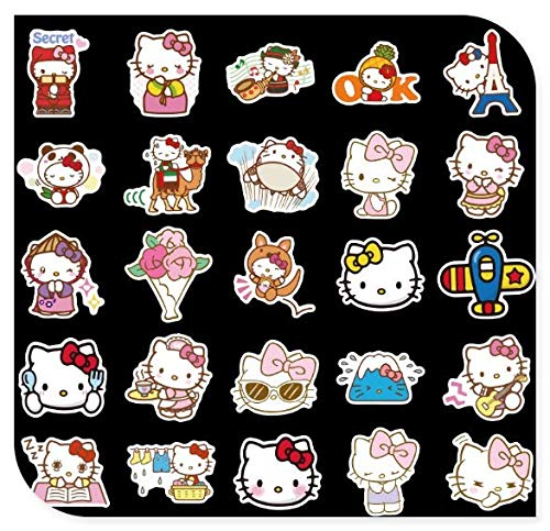Girl Heart Suitcase Stickers Suitcase Trolley Case Guitar Computer Phone Case Stickers 100 Sheets