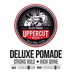This strong hold, high shine pomade was the first product in the Uppercut Deluxe range. It set the bar for quality and has earnt itself a cult following over the years. Deluxe Pomade has been designed for the discerning guy who has a particular style...