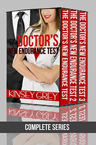 The Doctor's New Endurance Test (Complete Series): Medical Menage Exhibitionist Role Play (English Edition)