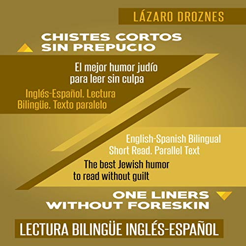 Chistes Cortos Sin Prepucio. [One Liners Without Foreskin.] audiobook cover art