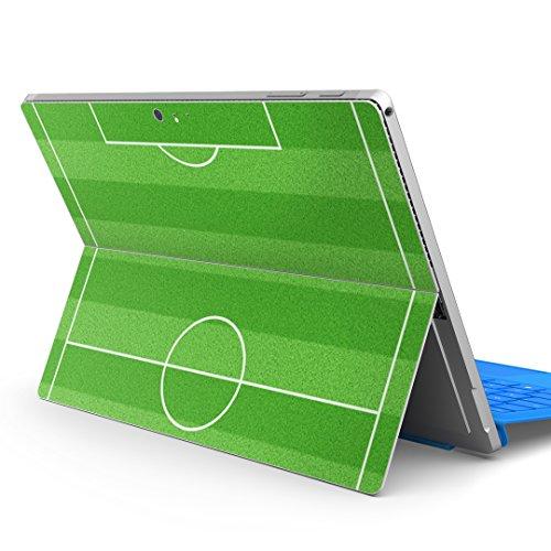 igsticker Ultradünne Premium-Schutzfolie für die Rückseite, universeller Tablet-Aufkleber für Microsoft Surface Pro 4 / Pro 2017 / Pro 6 (2018) 000897 Fußballtor