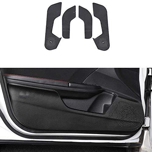 LKJsagd Etiquetas engomadas del cojín del Anti-Retroceso de la Puerta de Coche, aptas para Honda Civic 2016 2017 2018 2019