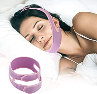 Chin Strap for Snoring Solution Anti Snore Chin Strap Anti Snoring Device,Sleep Aid and Stop Snore for Men and Women Adjustable Comfortable
