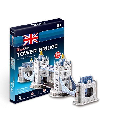 CubicFun 3D Puzzle S-Serie Puente de la Torre - Londres