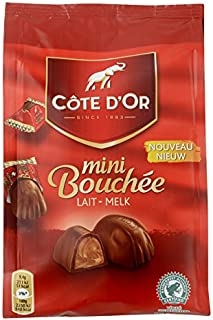 Mini Bouchee Lait Melk Milk Gift Bag - Cote d'Or Belgian Chocolates 122g