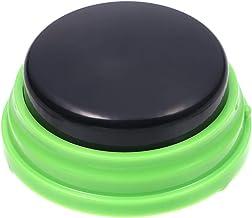 Botão de fala gravável Sazoley para crianças, botão de gravação de voz, botão interativo para atender os botões