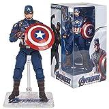 FYH Shop Decoraciones Alta Colección De Regalos,Marvel Series Avengers 4, Capitán América, Spider-Ma...