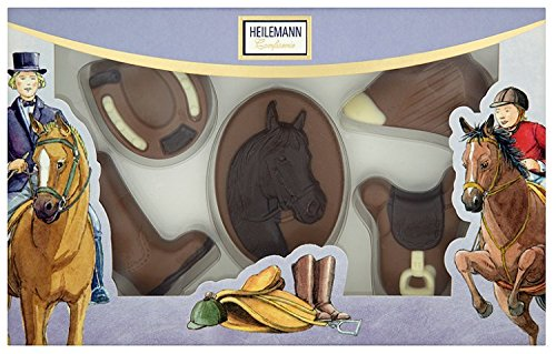 Heilemann Schoko-Pferdepackung Edelvollmilch, 1er Pack (1 x 100 g)