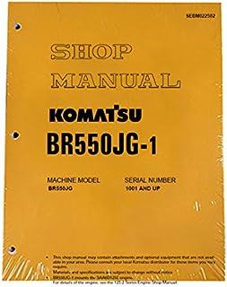 Komatsu BR550JG-1 Mobile Crusher Workshop Repair Manual