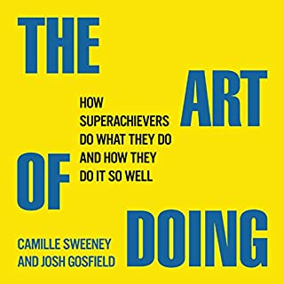 The Art of Doing audiobook cover art