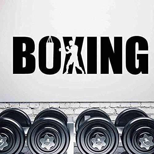 Zykang 3D Wandaufkleber Boxhandschuhe Aufkleber Kick Boxer Spielen Auto Aufkleber Schlacht Poster Vinyl Vorderwand Aufkleber Wandaufkleber Dekoration 42 * 157 Cm Anpassbar