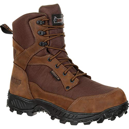 Rocky Ridgetop 600G Insulated Waterproof Outdoor Boot Size 10(M) Brown