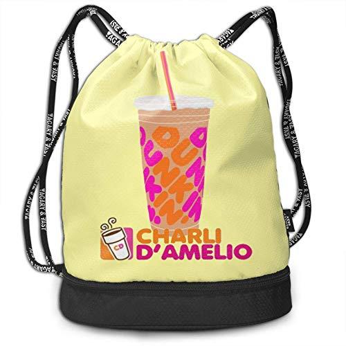Charli-Damelio Merch Costume Bundle Mochila Anime Elegante Bolsa