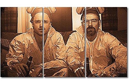 WandbilderXXL Immagine su Tela Breaking Bad 180x 100cm–in 6Diverse Misure. Stampata su Tela e preparata su Telaio. Quadri su Tela a Prezzi Top.