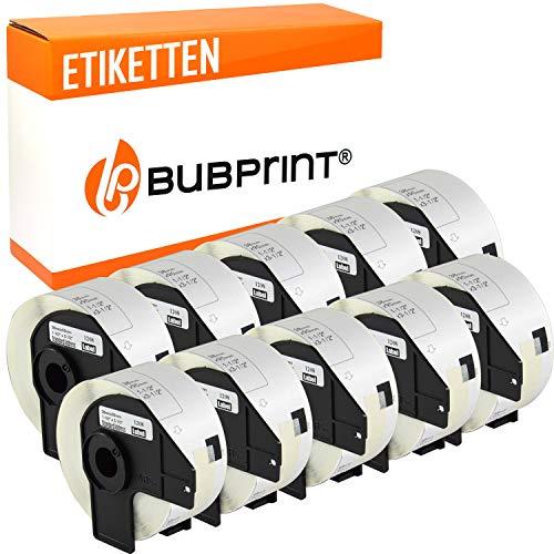 Bubprint 10 Etiketten kompatibel für Brother DK-11208 DK 11208 für P-Touch QL1050 QL1060N QL500BW QL550 QL560 QL570 QL580N QL700 QL710W QL720NW QL810W