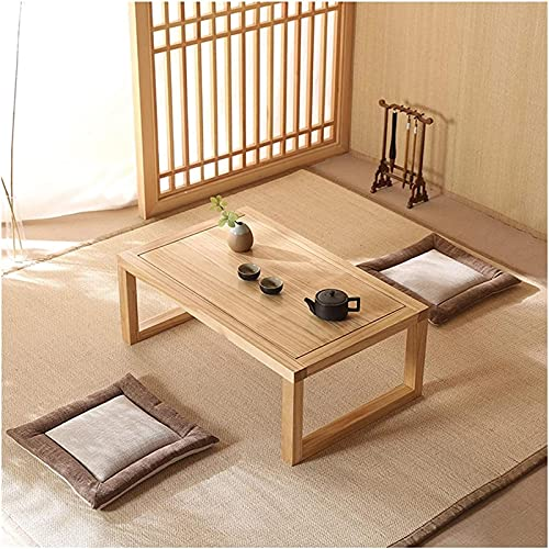 Tavolino da divano, Tavolini da caffè in legno massello tavolino tavolino tavolino da tavolo corto Uso e portatili, picnic, campo o come regalo - sala da regalo tavolino tavolino (colore: marrone, dim