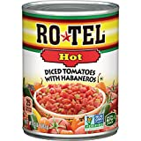 ROTEL Hot Diced Tomatoes with Habaneros, 10 Ounce