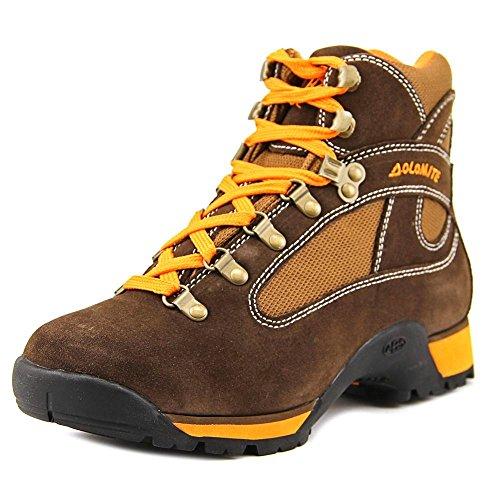 Dolomite Men's Hawk Pro Brown/Orange Suede Hiking Boot 9.0