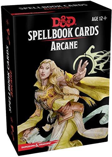 Spellbook Cards: Arcane (Dungeons & Dragons)