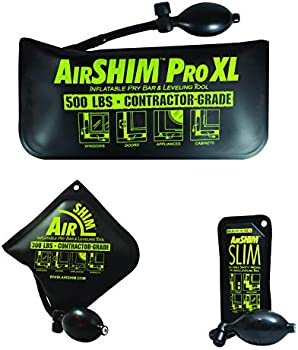 3-Piece Calculated Industries AirShim Inflatable Pry Bars & Leveling Tools