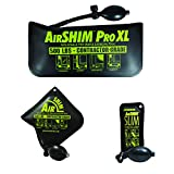 Calculated Industries 1134 AirShim Inflatable Pry Bars and Leveling Tools 3-pc Value Pack – Original AirShim, AirShim Pro XL, and AirShim Slim | Contractor-Grade Alignment Pump Wedges | Set of 3