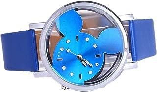 Orologio Bambino XYBB orologio per bambini quadrante trasparente cavo carino orologi per bambini orologio da bambino al qu...