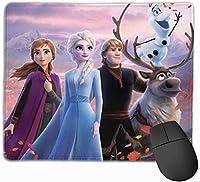 マウスパッド Frozen、アナと雪の女王 キーボードパッド ゲーミング マウスパッド 3D柄プリント パソコン 周辺機器 防水 滑り止め 耐久性が良い 高級感 えるマウスパッド