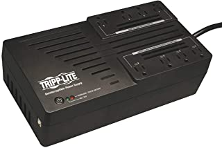 Tripp Lite 550VA UPS Battery Backup, 300W AVR Line Interactive, USB, Ultra-Compact (AVR550U)