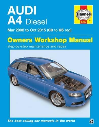 Audi A4 Diesel (Mar '08 - Oct '15) 08 To 65: 2008-2015