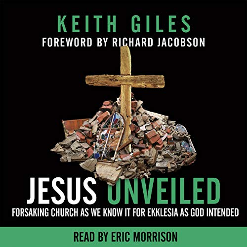 Jesus Unveiled audiobook cover art