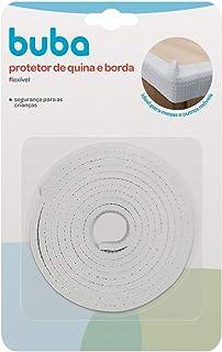 Protetor de Quina e Borda - Flexível em Rolo, Buba, Branco