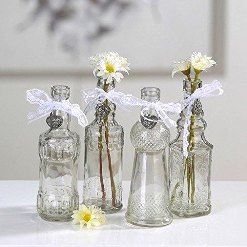 Bouteilles – Vase Lovely 4 Vases Hauteur env. 17 cm