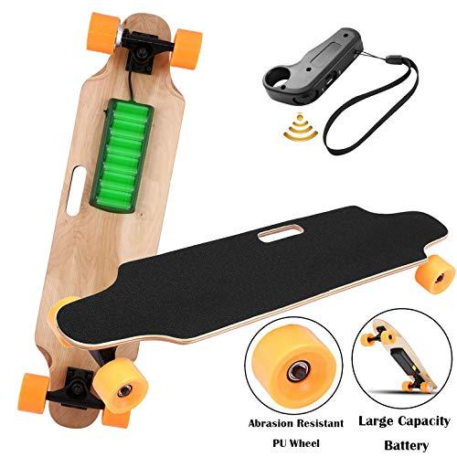 Aceshin Electric Skateboard Motorized Skateboard 20 KM/H Top Speed, 250W Motor,7 Layers Maple...