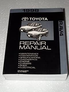 1998 Toyota Rav4 Factory Service Repair Manual (Complete Volume)