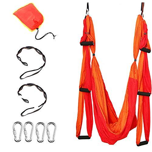 HI SUYI Fliegeryoga Aerial Flying air Yoga pilate Karaft Training vertikal Schaukel Akrobatik Tuch Stoffe Zubehör Hammock